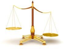 Баланс правосудия (включенный путь клиппирования) Бесплатная Иллюстрация