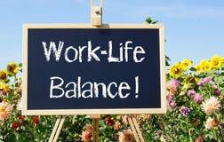 Баланс Работ-жизни Стоковое фото RF