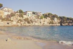 балеарские острова mallorca porto cristo пляжа Стоковая Фотография RF
