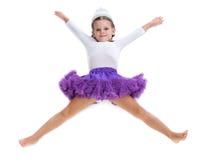 Балерина маленькой девочки Стоковые Фото