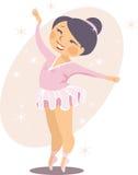 Балерина маленькой девочки Стоковое Фото