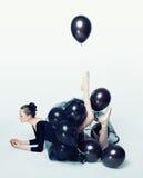 Балерина Prima в полете Стоковое Фото