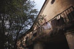 Балет в старом городе Стоковое Изображение