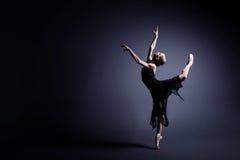 Балет в темноте Стоковые Изображения RF