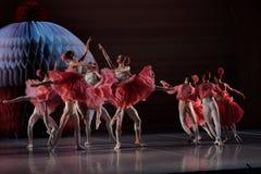 Балет Щелкунчик в театре Mikhailovsky во время церемонии закрытия форума Санкт-Петербурга международного культурного Стоковая Фотография RF