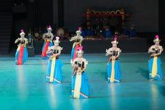 Балет Ramayana на на Prambanan, Индонезии стоковые фото