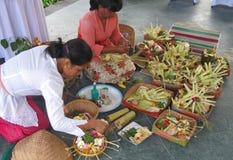 Балийская свадебная церемония 02 Стоковое Изображение RF