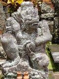 Балийская скульптура в висках стоковая фотография