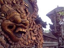 Балийское оформление стены улицы Стоковые Изображения