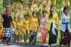 Балийское парадное шествие стоковые изображения rf