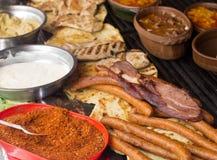 Балканская еда Стоковая Фотография