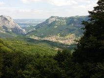 Балканские горы Стоковое Изображение RF