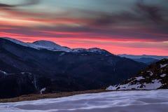 Балканские горы Стоковое фото RF