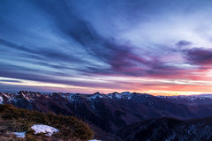 Балканские горы Стоковая Фотография