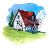 Балканский дом Стоковое фото RF
