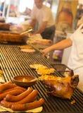Балканское барбекю Стоковая Фотография