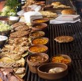 Балканское барбекю Стоковое Изображение RF