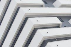 Балконы - архитектурноакустическая деталь Стоковые Изображения RF