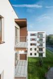 Балконы в блоке Стоковые Фотографии RF