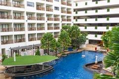 Балконы гостиницы Стоковое Изображение