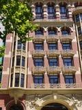 Балконы литого железа в Мельбурне стоковые изображения rf