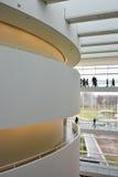 Балконы и дорожки на музее изобразительных искусств ARoS, Орхусе, Дании Стоковое фото RF