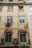 Балконы на фронте жилого квартала Стоковые Изображения RF