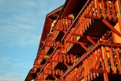 Балкон гостиницы Стоковые Изображения RF