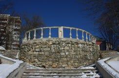 Балкон и лестницы Стоковое Изображение