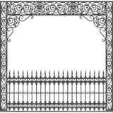 Балкон ковки чугуна Нового Орлеана Стоковое Фото