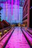 Балкон на второй этаж курорта Gaylord национального, в n Стоковое Изображение