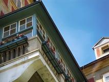 Балкон на замке холма Jansky Стоковое Изображение RF