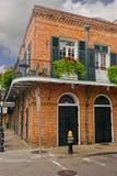 Балкон французского квартала Стоковые Изображения
