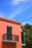 Балкон французского квартала Стоковые Фото