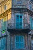Балкон французского квартала Стоковое фото RF