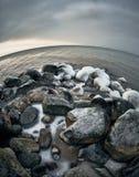 Балтийское море в зиме Стоковая Фотография RF