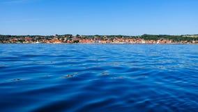 Балтийское море Дания Скандинавия Европа Christiansoe Борнхольма форта острова стоковые изображения
