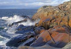Балтийское море, остров Kokar Стоковое Изображение RF