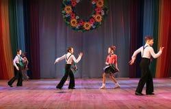 Бальные танцы конкуренции стоковое фото rf