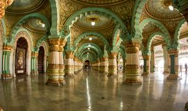 Бальный зал большого зала Стоковое Фото