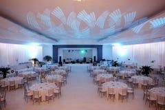 Бальный зал венчания Стоковые Изображения RF