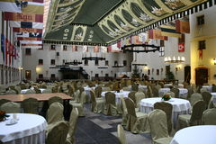 Бальный зал в замке Ryn Стоковая Фотография RF