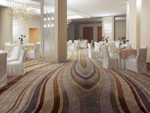 Бальный зал в современном стиле Стоковое Изображение RF