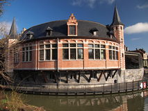 Бальный зал (Гент, Бельгия) Стоковая Фотография