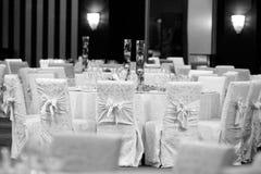 Бальный зал свадьбы Стоковое фото RF