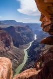 Бдительность Toroweap на гранд-каньоне Стоковое Изображение