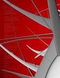 бдительный красный цвет Стоковые Изображения