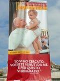 Беатификация Папы Иоанна Павел II стоковые фотографии rf