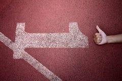 беговая дорожка Стоковое Изображение RF