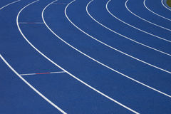 беговая дорожка сини предпосылки Стоковое Изображение RF